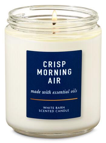 Vela Pavio Simples - Crisp Morning Air