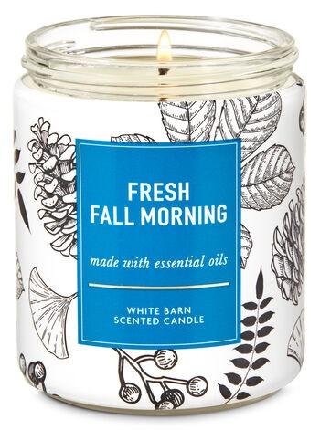 Vela Pavio Simples - Fresh Fall Morning