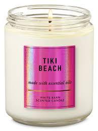 Vela Pavio Simples - Tiki Beach