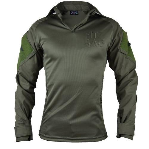 Camisa Tática Combat Militar Reforçada Rip Stop Verde Oliva - Fitz Bag d61e2a9e629