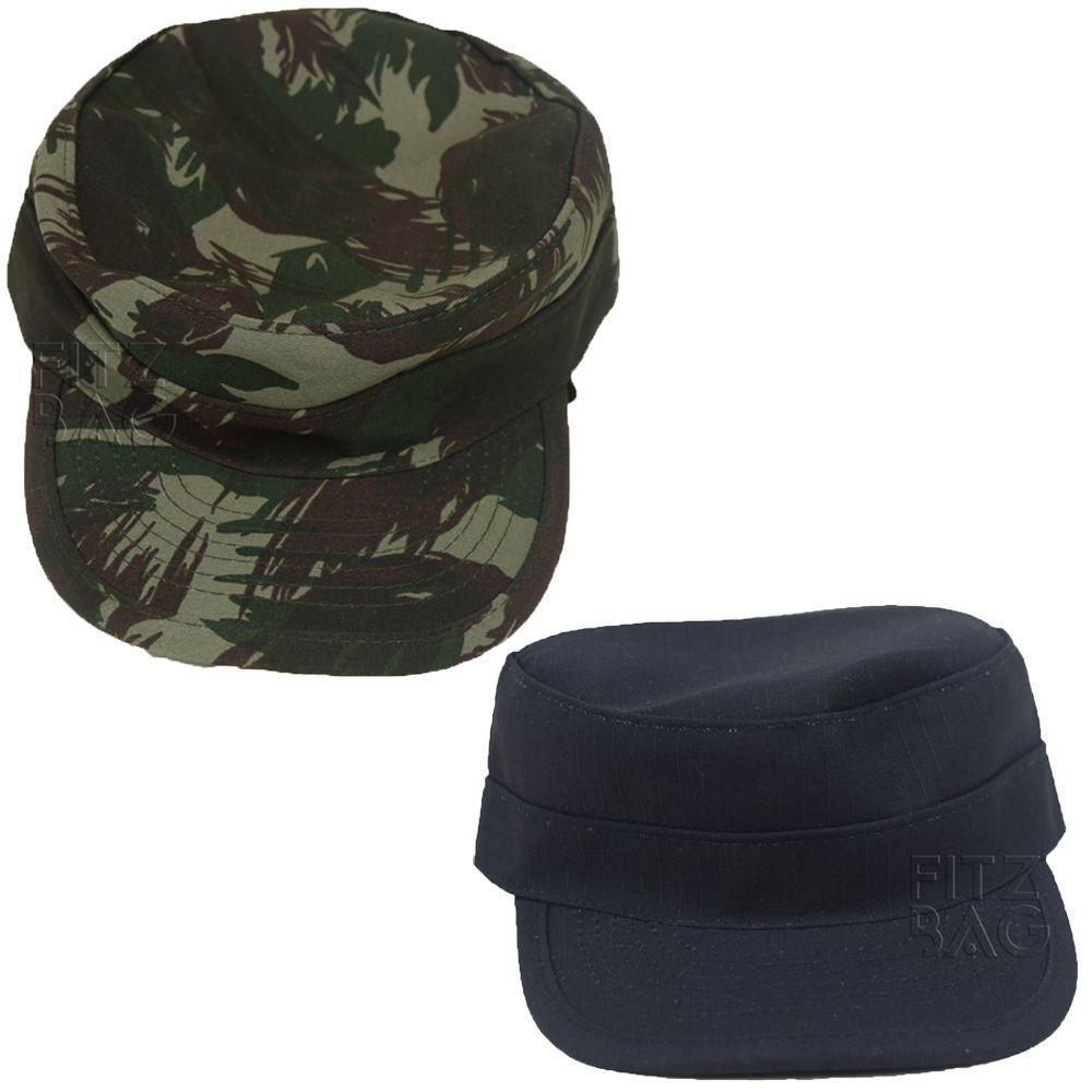 Farda Multicam Black Tática Militar Reforçada + Chapéu - Use Tático ... 4f81ef17729