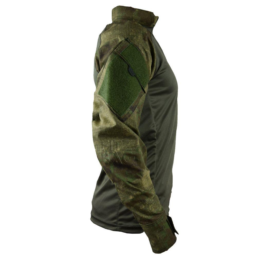 Camisa Combat T-shirt Tática Militar Camuflado Atacs Fg - Fitz Bag d6b19e77e58