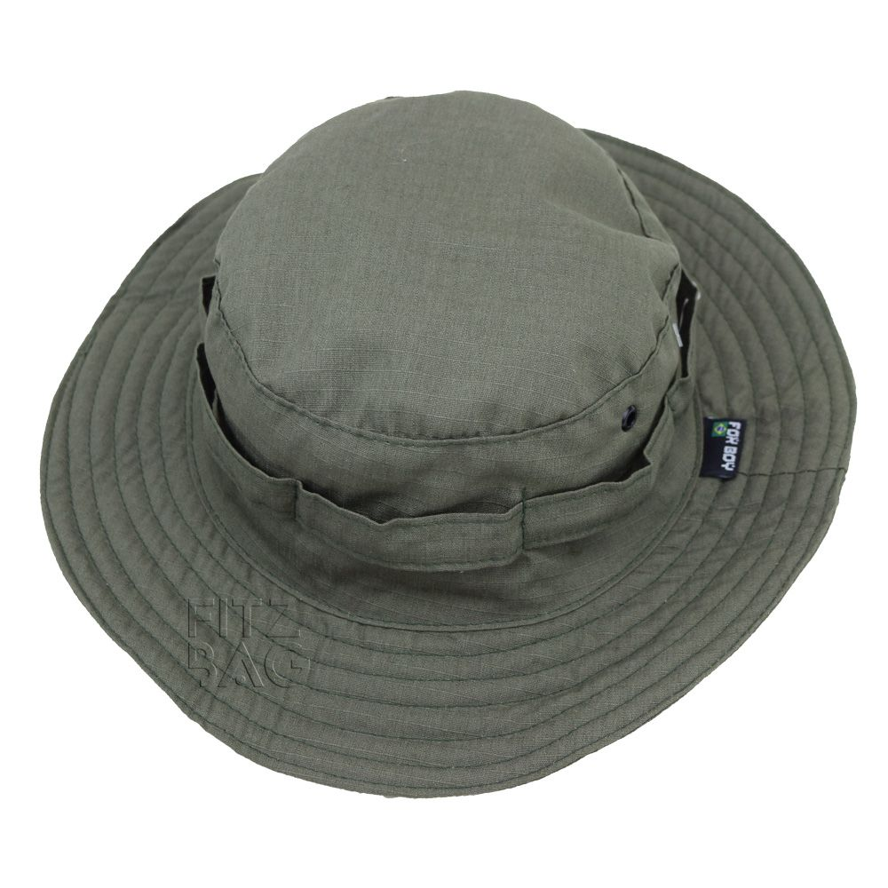 Chapéu Boonie Camuflado Militar Selva Pesca Caça Reforçado - Fitz Bag 76acc178c87