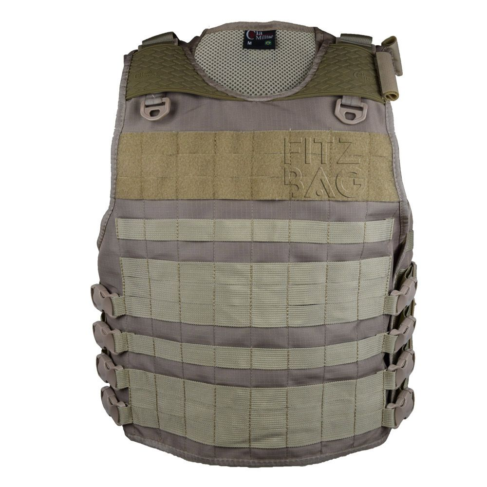 Colete Balístico Tático Operacional Combate Policia Militar - Fitz Bag 579515179ff50