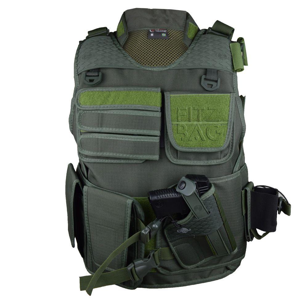Colete Operacional Segurança Policia Militar Civil Combate - fitzbag ecc2713c8507d