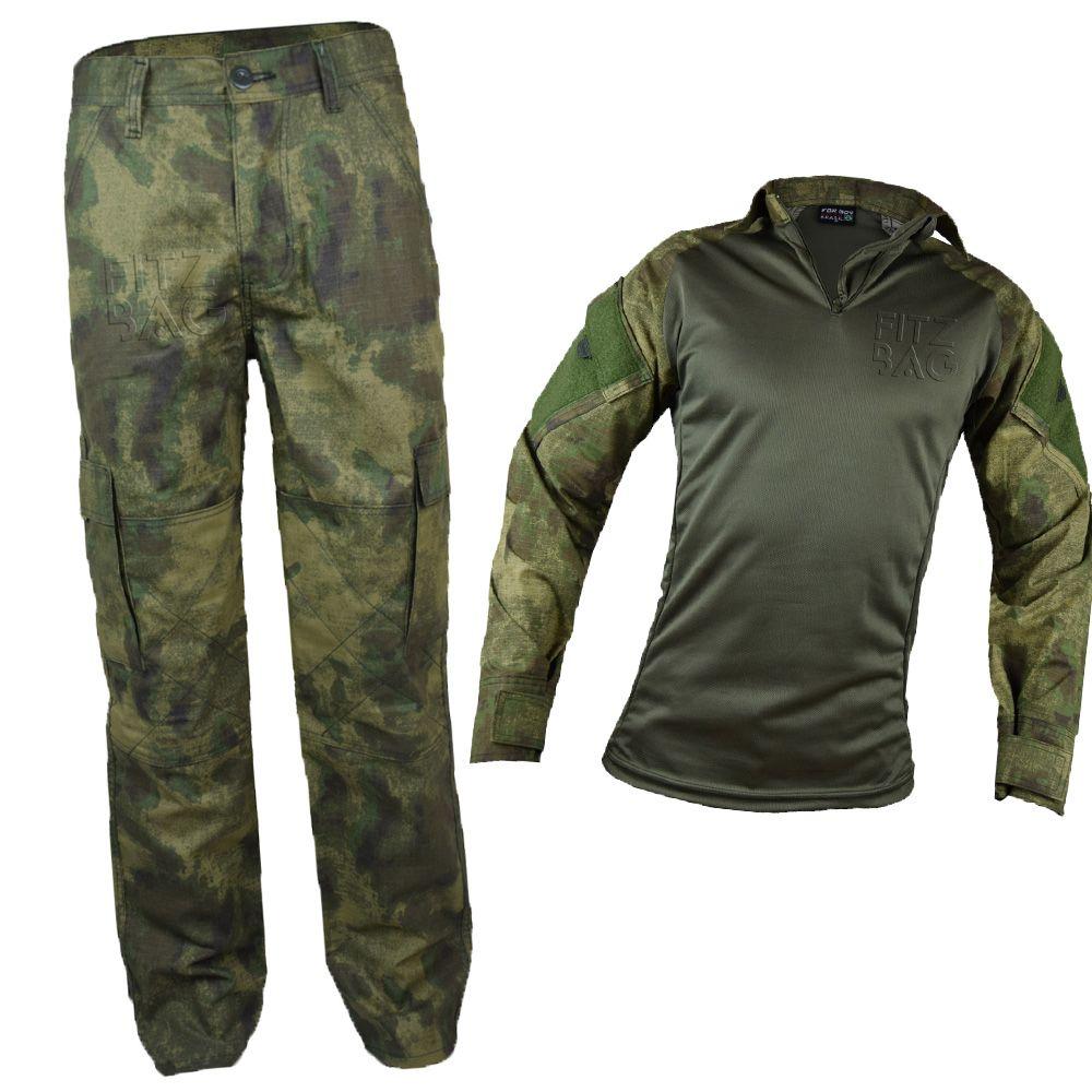 Farda Atacs Tática Masculina Camuflado Militar Rip Stop - Fitz Bag fd9d2c8a8a2