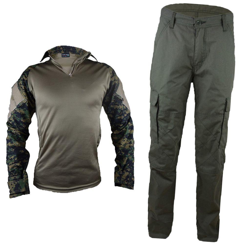 Farda Marpat Tática Masculina Camuflado Militar Rip Stop - Fitz Bag f93bb8d4c6b