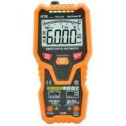MD6230 - Multimetro Smart Icel Corrente AC/DC, Temperatura, capacitância...