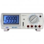 MD6601 - Multímetro Digital De Bancada Tensão DC/AC: 1.000V/750V Corrente DC/AC: 20A Resistencia: 20MOHM