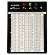 MSB400 - Protoboard ICEL 2420 Furos -  4  Bornes