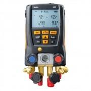 Testo 557 - Manifold digital p/ medição de pressão em sist de refrigeração c/ bluetooth