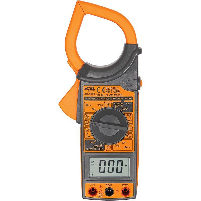 AD9900 - Alicate Digital Icel CORRENTE AC: 1000A CATIII 600V  - Rio Link