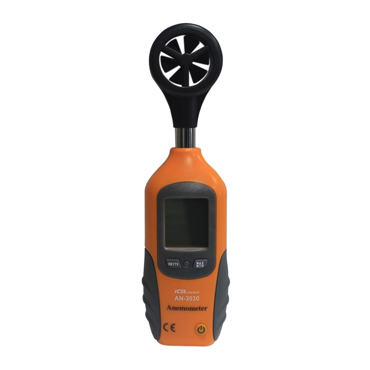 AN3030 - Anemômetro Escala 3.6 a 90 Km/h