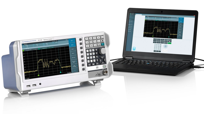FPC1000 - Analisador de Espectro 1GHz Rohde Schwarz  - Rio Link