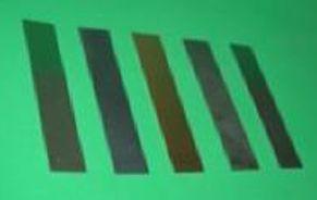 Conjunto de 5 Lâminas metálicas  - Rio Link