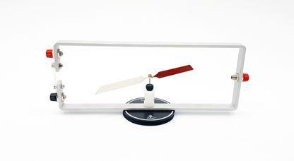 Conjunto Oersted destinado ao estudo de campo magnético gerado por uma corrente elétrica  - Rio Link