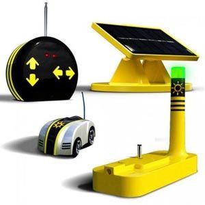EcoRacer - Carrinho Controle Remoto Solar  - Rio Link