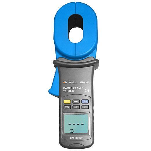 ET4310 - Alicate Terrômetro Minipa Resistência 0,01~1000Ω  - Rio Link