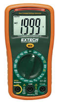EX310 - Mini multímetro  Extech de 9 funções e detector de tensão  - Rio Link