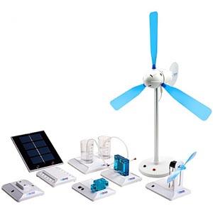 FCJJ37 - Kit educacional de energias renováveis  - Rio Link