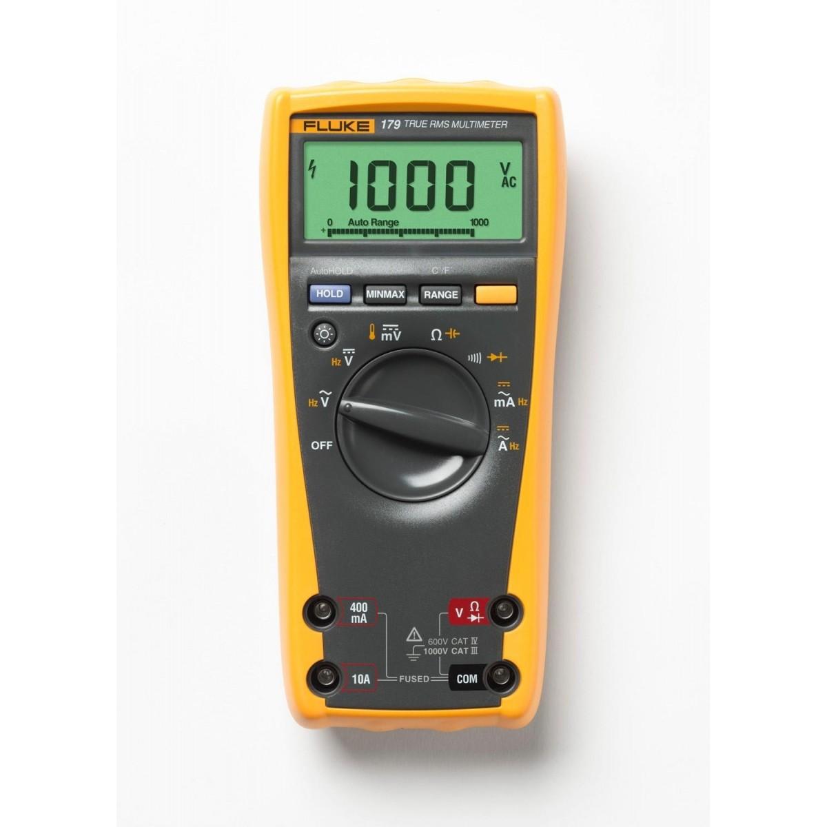 Fluke 179 - Multímetro Digital Fluke True Rms com Ampla Faixa