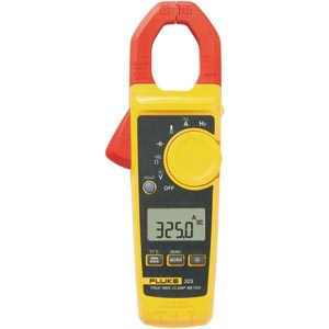 Fluke 325 - Alicate Amperímetro Corrente AC/DC 400A, Temperatura, Capacitância e Frequência.    - Rio Link