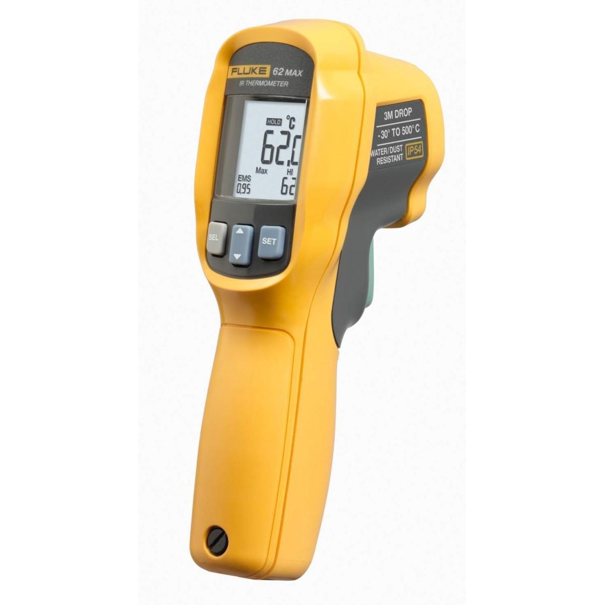 Fluke 62 MAX - Termômetros infravermelhos  -30 °C a 500 °C  - Rio Link
