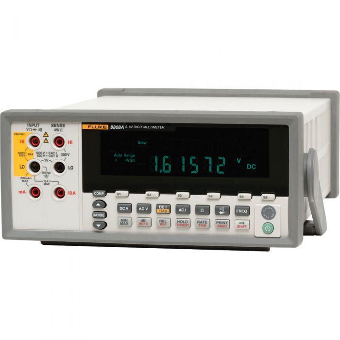 Fluke 8808A - Multímetro Digital 1000 V DC 750V AC 10A AC/DC  - Rio Link