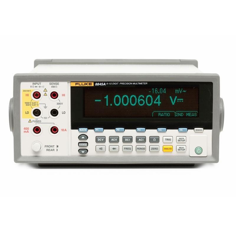 Fluke 8845A - Multímetros de precisão de 6,5 dígitos   - Rio Link