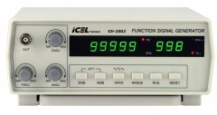 GV2002 - Gerador De Função Digital Icel 0,2Hz até 2MHz  - Rio Link
