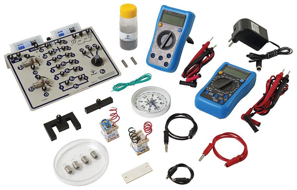 Kit Conjunto para eletricidade e eletromagnetismo