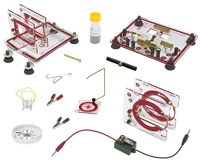 Kit Conjunto para eletromagnetismo Vaz  - Rio Link