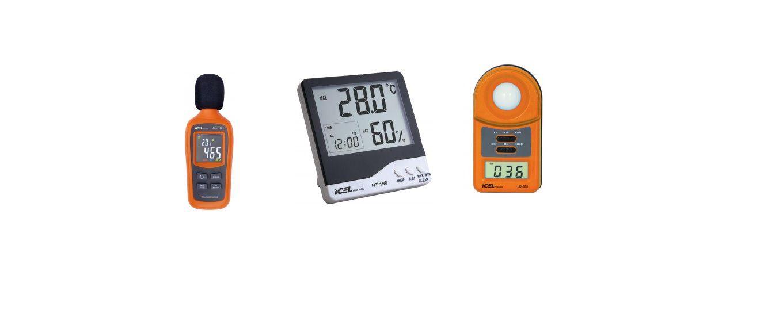 Kit Segurança Do Trabalho - Luxímetro, Decibelímetro e Termohigrometro.  - Rio Link