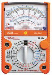 MA70A - Multimetro Analogico Tensão AC/DC: 1.000V Corrente: 10A  - Rio Link