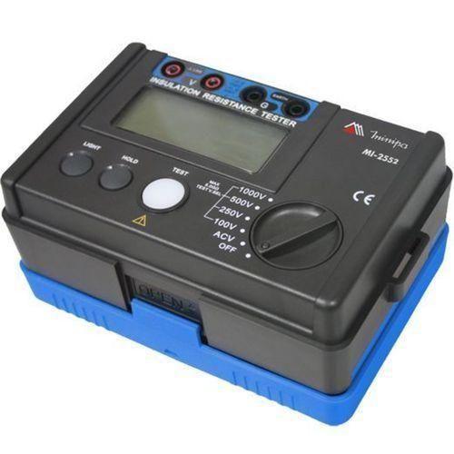 Megometro Minipa MI2552 Tensão 1000V DC  - Rio Link