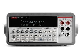 Keithley 2100 - Multimetro digital de Bancada com Alta precisão 6-1/2 digitos  - Rio Link