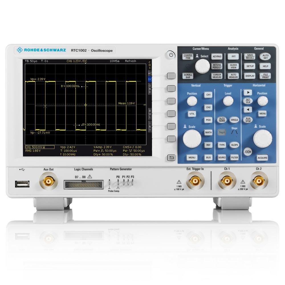 Osciloscópio 300Mhz Inclui Gerador Protocolo Can/Lin, SSPI, SPI, I2C e MSO