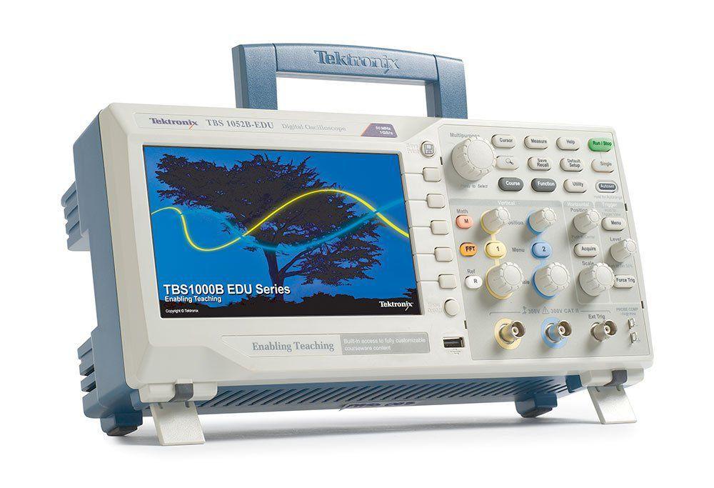 Osciloscópio Tektronix Tbs1052b EDU 50mhz   - Rio Link