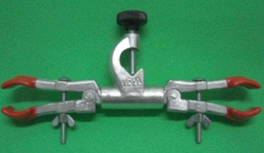 Pinça dupla para bureta com mufa  - Rio Link