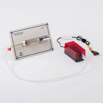Tábua Modelo cinética dos gases Destinado ao estudo de teoria cinética dos gases, efeito da temperatura  - Rio Link