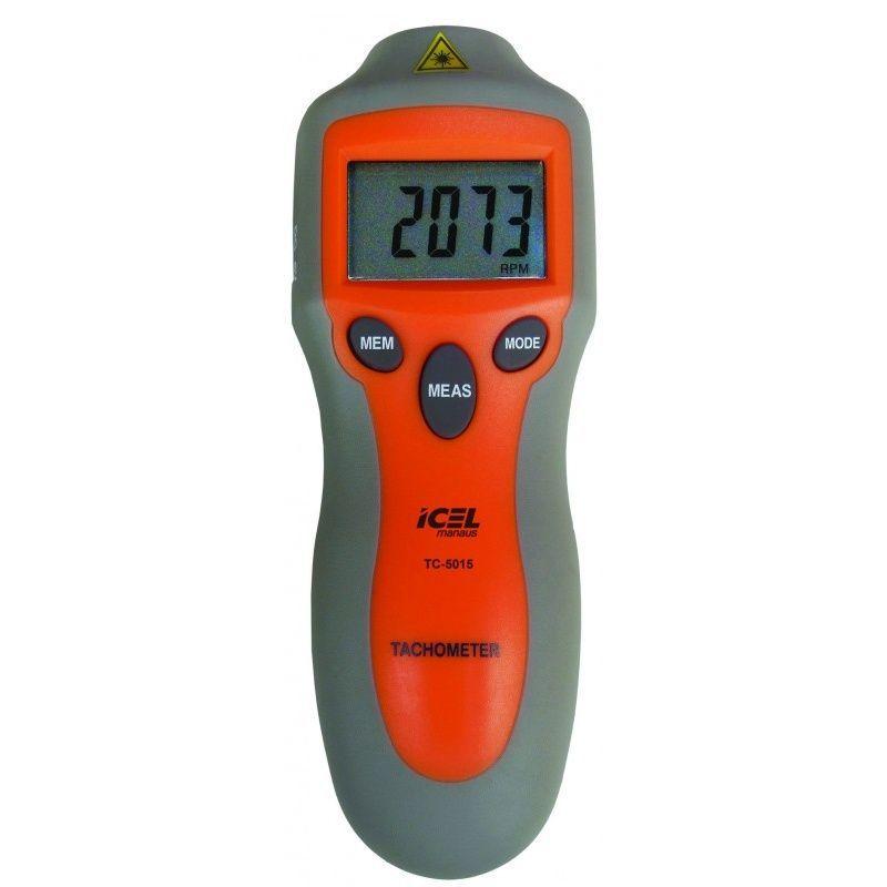 Tacômetro Ótico 2 A 99.999 Rpm Tc-5015 Icel  - Rio Link
