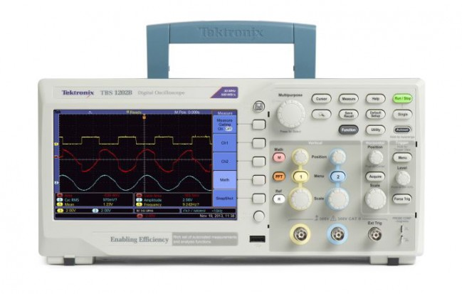 TBS1052B - Osciloscópio Digital Tektronix 50MHz  - Rio Link