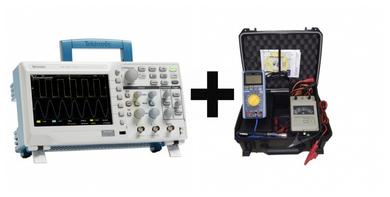 TBS1052C - Osciloscópio Tektronix 50MHz + Kit De Manutenção