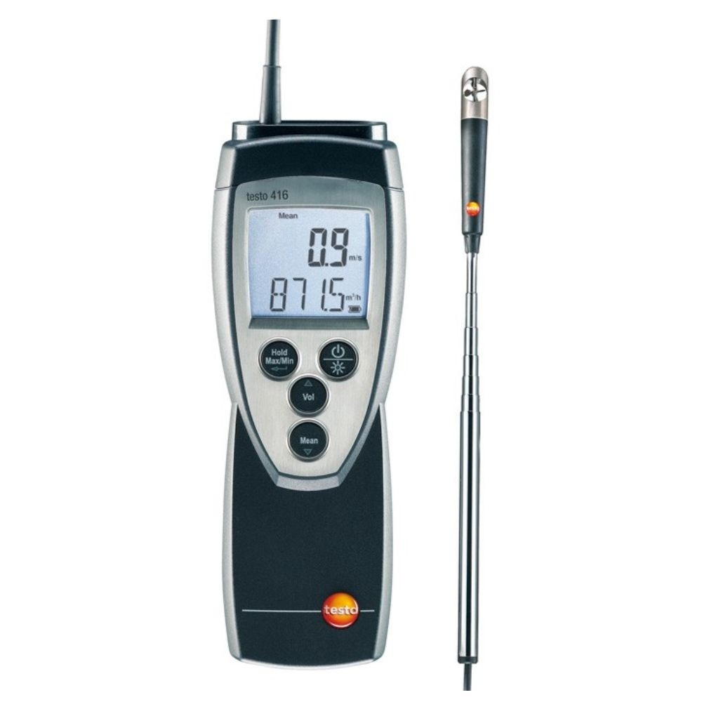 Testo 416 - Anemômetro de Hélice com Sonda Acoplada (0,6)  - Rio Link