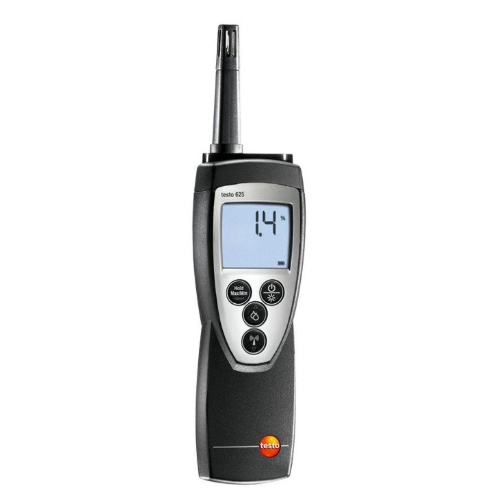 Testo 625 - Termohigrometro umidade, temperatura, incl. sonda acoplável