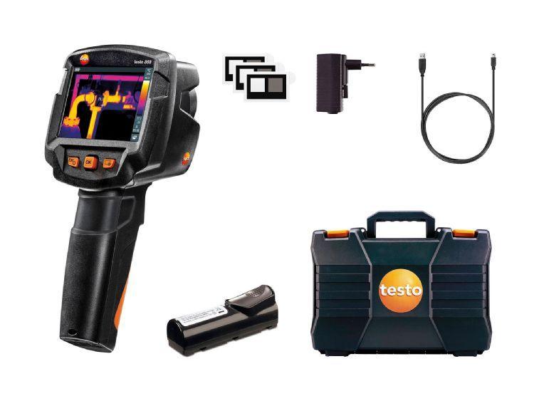 Testo 868 - Termovisor de alta definição 160 x 120 px com câmera digital visual  - Rio Link