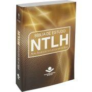 BIBLIA DE ESTUDO NTLH BROCHURA ÂMBAR