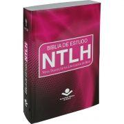 BIBLIA DE ESTUDO NTLH BROCHURA VERMELHA