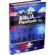 BIBLIA DE ESTUDO PLENITUDE PARA JOVENS CAPA DURA AZUL