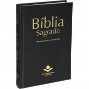 BIBLIA SAGRADA REVISTA E ATUALIZADA CAPA DURA